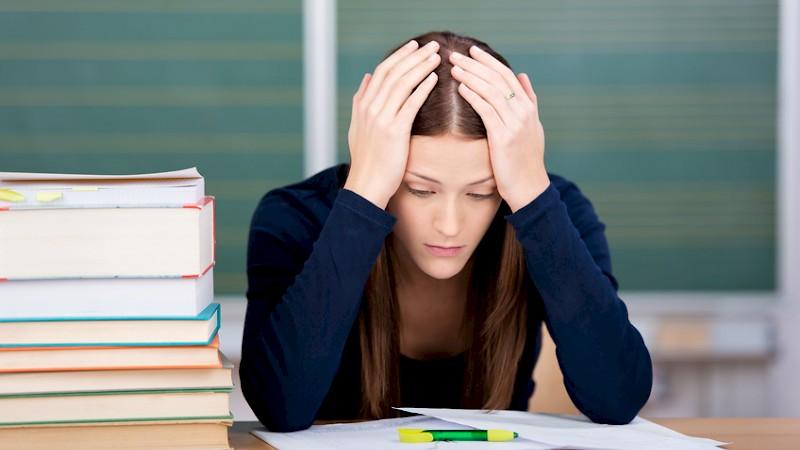 Studenten leiden unter Leistungsdruck